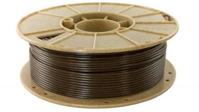 Un filamento relleno de café