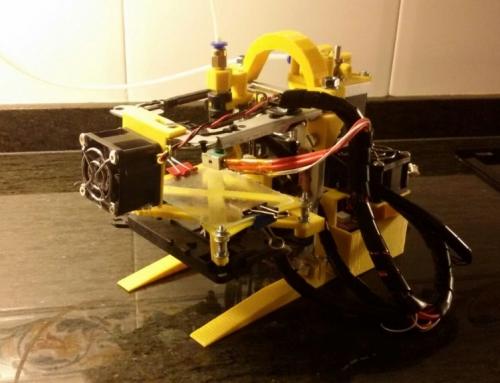 eGarbigune, una mini impresora 3D reciclando viejos componentes electrónicos