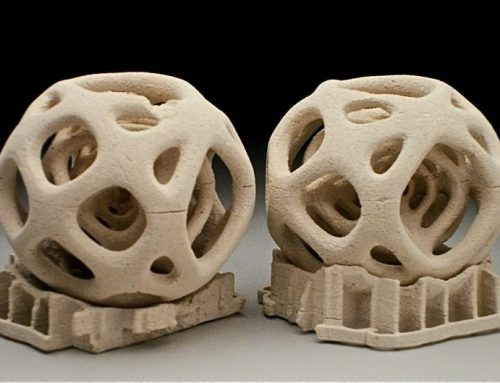 Imprimiendo cerámica en 3D