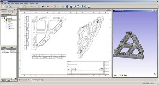 Dise ando en 3d impresiontresde for 2d blueprint maker