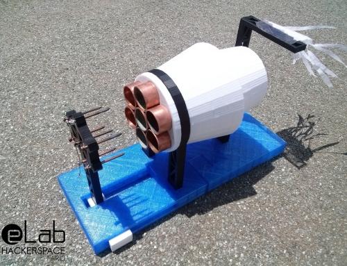 Fabrica tu propio motor iónico con una impresora 3D