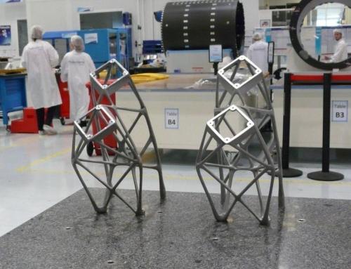 Thales Alenia Space fabrica las mayores piezas impresas en 3D de Europa