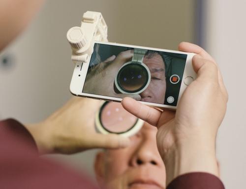 Desarrollan un Kit impreso en 3D para examenes de la vista por 50$