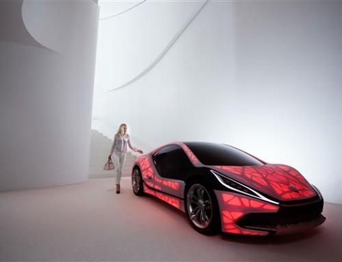 Los coches del futuro serán parcialmente impresos en 3D